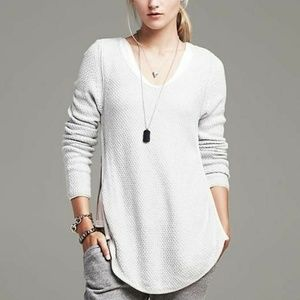 Banana Republic | Light Grey Sweater Small